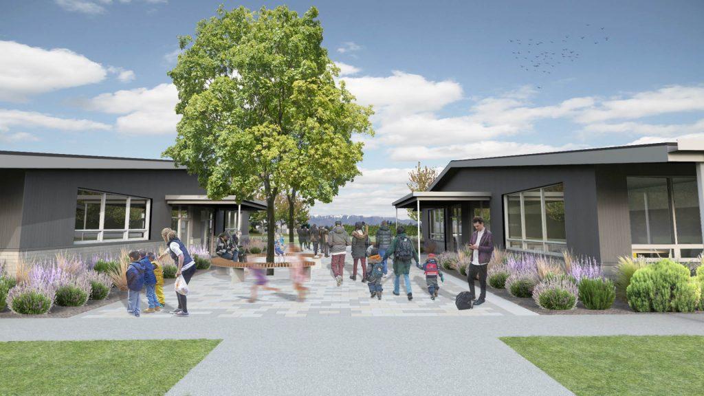 Maniototo School proposed entrance