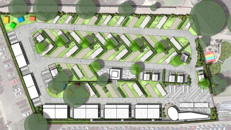 Takapuna Camp Ground masterplan