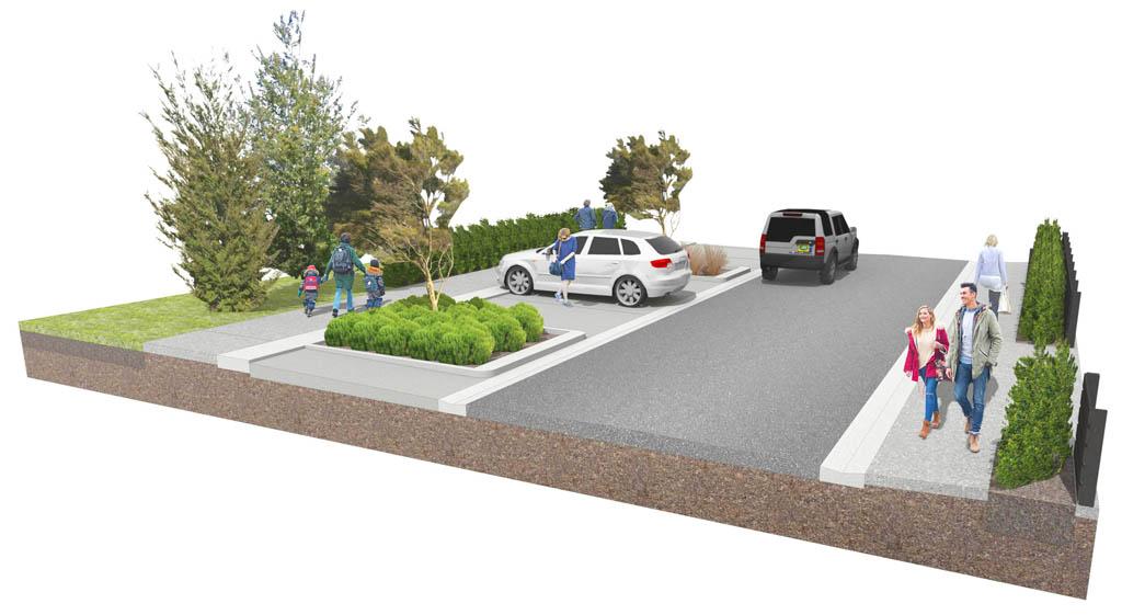 Streetscape design