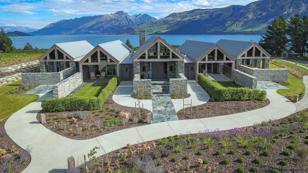 Blanket Bay Villas Landscape Design