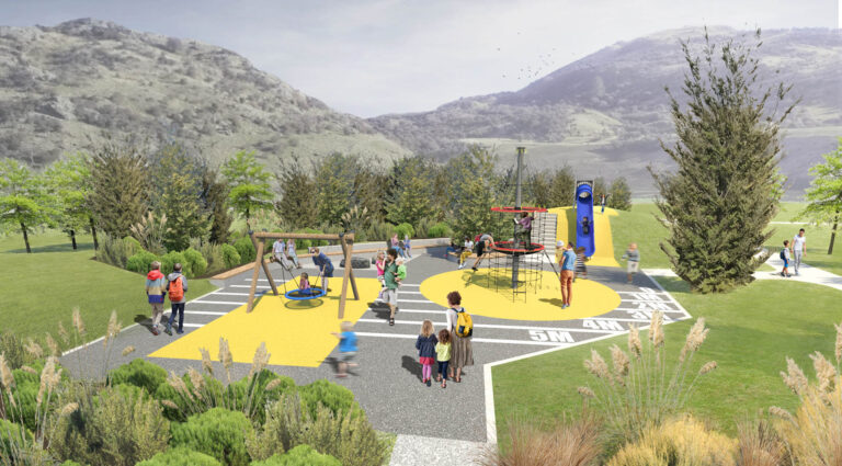 Woolshed Road 3d render of proposed park